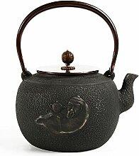 Gusseisen-Teekanne, japanische Gusseisen-Teekanne,