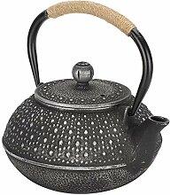 Gusseisen-Teekanne, Teekessel mit