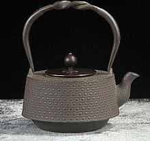 Gusseisen Teekanne Vintage handgemachte