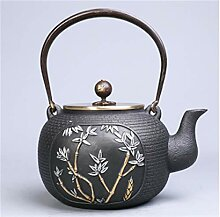 Gusseiserne Teekanne Gusseisenkocher Wasserkocher