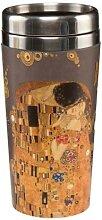 Gustav Klimt Thermobecher Der Kuss H. 17,5cm für