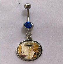 Gustav Klimt – weinende Frau,