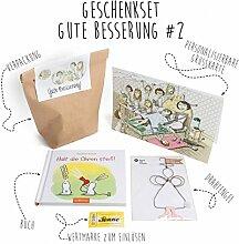 Gute Besserung Geschenk, Trostspender, Aufmunterungsgeschenk - Geschenkset Gute Besserung #2