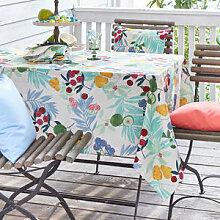 Gute-Laune Tischdecke mit frischen Früchtchen