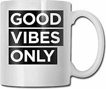 Gute Stimmung nur Mode Kaffeetasse Porzellan Tassen