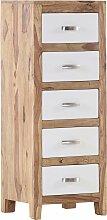 Gutmann Factory Kommode Vienna, mit 5 Schubladen,