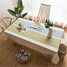 GUTONGHAO Moderne Rechteckige Tischdecke Mit