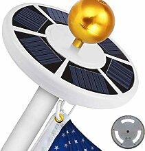 Gutyan 42LEDs Solar Flagpole Light Solar