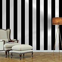 Guvana Selbstklebende Tapete mit Streifen, 45 x