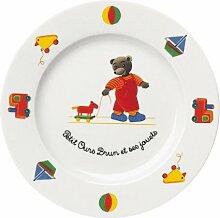 Guy Degrenne Bärenfamilie, 6 Stück, Porzellan