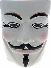 Guy Fawkes Anonymous Weiß Maske Gesichts-Becher (Mug)