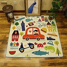Guyuan Kinderzimmer quadratisch Teppich