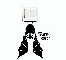 Guyuell Bat Switch Aufkleber Cartoon Tiere