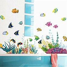 Guyuell Diy Tropivsl Fisch Kinderzimmer