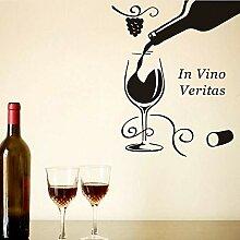 Guyuell Diy Wohnkultur Schwarz In Vino Veritas