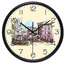 guyuell Europäische Italien Vintage Uhr Home