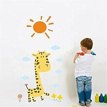 Guyuell Giraffe Giraffe Sonne Wandaufkleber