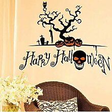 Guyuell Halloween Dekoration Horror House Cartoon