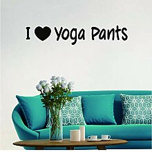 Guyuell Ich Liebe Yoga Hosen Tapete Tanztraining