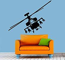 Guyuell Kunst Wohnkultur Hubschrauber Flugzeug