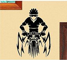 Guyuell Mountainbike Fahrer Mit Helm Spezielle