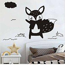Guyuell Schöne Schwarze Tiere Fox Diy