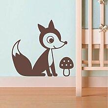 Guyuell Vinyl Fox Aufkleber Für Baby Kinderzimmer