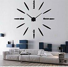 guyuell Wanduhr Uhren Uhr Aufkleber DIY 3D Acryl