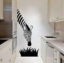 Guyuell Zebra Wandtattoo Moderne Kunst Dekoration