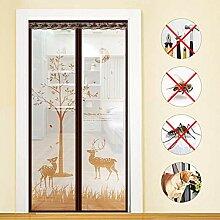 GUYUN Magnet Fliegengitter Tür Insektenschutz,