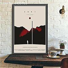 GuZiDo Klassische Filmposter und Drucke Wandkunst