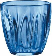 Guzzini 24960176 Weinglas, 230ml, 8,5x8,2cm, Blau