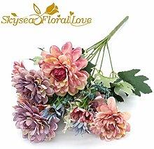 GVHGV Seidenblumen Chrysantheme Hochzeitsblumen