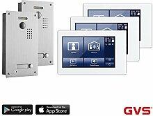 GVS 2-Draht/IP Video Türsprechanlage, 3X 7 Zoll