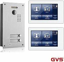 GVS 2-Draht-Video-Türsprechanlage, 2 Familienhaus
