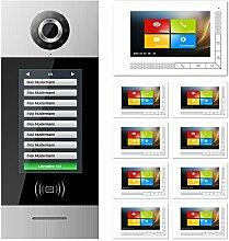 GVS 2-Draht Video Türsprechanlage SMART7, 9