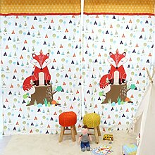 GWELL Kinderzimmer Gardinen Vorhang Blickdicht