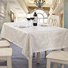 GWELL Luxus Wachstuch Tischdecke Tischtuch