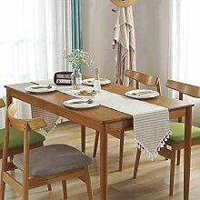 GWELL Streifen Tischläufer Mitteldecke Tischband