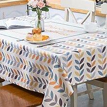 GWELL Tischdecke Eckig Tischwäche