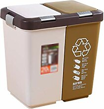 GWF Doppelschicht Mülleimer, Kunststoff