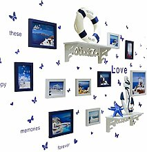 GWF Fotorahmen kreative Wand Liebe Herz Fotowand 5