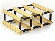 GWFVA Stemware Racks Massivholz Holzgitter