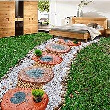 Gwgdjk Benutzerdefinierte 3D Boden Mural Tapete
