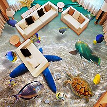 Gwgdjk Benutzerdefinierte 3D Boden Wandbild