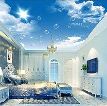 Gwgdjk Benutzerdefinierte 3D-Fototapete Blauer