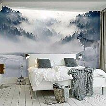 Gwgdjk Benutzerdefinierte Wandbild Tapete 3D Berg