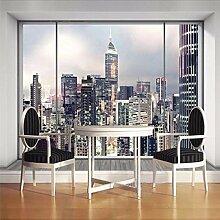 Gwgdjk Customized Größe 3D Fenster New York City