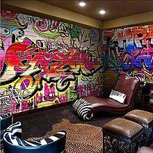Gwgdjk Einfache Mode Persönlichkeit Graffiti