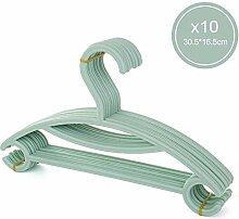 GWJXY 10 Stück Baby Kunststoff Kleiderbügel für